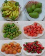 Set 70 Fruits Miniatures Dollhouse Banana Mango Apple Orange Strawberry #6.1