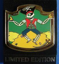 Pirates Virtual Magic Kingdom POTC Treasure Cove Disney Pin LE OC