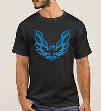 Trans Am Firebird 1974-76 T/A Pontiac Blue Bird Logo Retro T-shirt