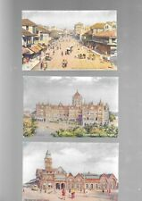 More details for eight raphael tuck 'oilette'  postcards of india - unposted