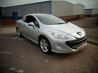 PEUGEOT 308 CC 1.6 16 Valve SE Convertible - Only 51K Miles & 2 Previous Owners