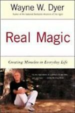 REAL MAGIC Creating Miracles by Dr Wayne W Dyer paperback book FREE SHIPPING