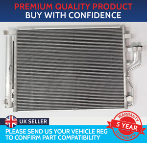 CONDENSER AIR CON RADIATOR TO FIT KIA SPORTAGE MK3 2010 TO 2015 2.0 CRDi DIESEL