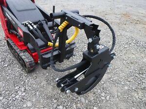 Branch Manager 56″ T1001 Rotating Log Grapple Fits Mini Skid Steer Toro Dingo