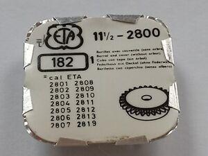 ETA  2800 + Many Pls Read - Barrel, Cover. No Arbor - 11.5''' Part 182 (JC069)