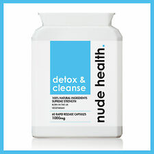 Detox & Cleanse 1000mg | Detox, Diet, Slimming Aid |100% Natural | 60 Capsules