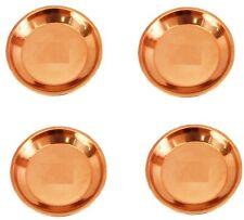 "8"" Inch Copper Pooja Thali Plate, Poojan Purpose, Spiritual Gift Item hindu puja"