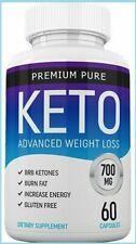 PREMIUM PURE KETO ADVANCED WEIGHT LOSS 60 CAPSULES (FREE & FAST SHIPPING)