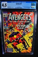 Avengers #89 - Marvel Comics 6/71 - CGC 4.5 - OW - Bronze Age