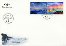 Iceland 2017 FDC UNWTO Intl Year of Sustainable Tourism 2v S/A Set Cover Stamps