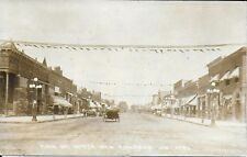 RPPC Street Scene in New Richmond Wisconsin 1919 – Main Street North