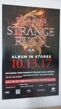^ POSTERS by TECH N9NE strange reign For the promo tour album cd LOT