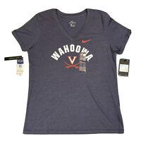 University Of Virginia UVA Cavaliers Wahoowa T-Shirt Women's Medium BQ8692-419