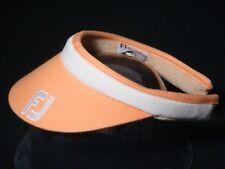 DISPLAY FootJoy Women's Golf Visor Bright Peach w/white band & lettering (B619)