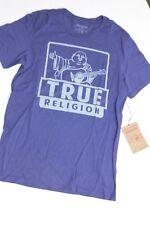 New True Religion Men  Blue  Shirt 2XL XXL XXLARGE