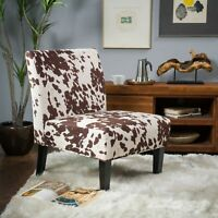 Kalee Contemporary Fabric Slipper Accent Chair (Set of 2)