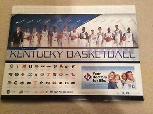 2012-13 Kentucky Wildcats Poster Nerlens Noel Willie Cauley-Stein P15