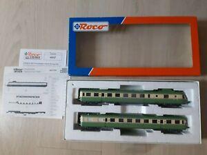"ROCO - SNCF -AUTORAIL RGP  X 2728+XR7728 ""LEZARD VERT "" - Ech HO - Ref:430372 -"