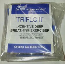 Triflo II Incentive Deep Breathing Exerciser / Spirometer