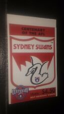 Australia Scott's 1510a. Mnh. Booklet of 10. Sydney Swans. sal's stamp store.