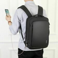 Men Pro Business Office Travel Bag Men's Waterproof Slim Laptop School Backpack
