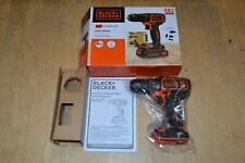 Bare Tool New Black and Decker 20V MAX Battery Powered Cordless Drill/Driver $59
