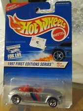 Hot Wheels BMW M Roadster 1997 First Editions Silver 5sp Coolest to Collect