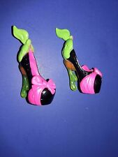 Monster High Scary Tales Snow Bite Draculaura Doll Clothes Shoes Heels Only