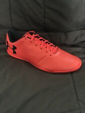 Under Armour Men's Magnetico Select Indoor Soccer Shoe Radio Red/Black New