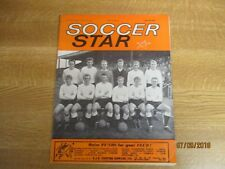 December 1963, SOCCER STAR, Bristol City FC, Cardiff City FC, Bill McGarry.
