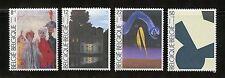 Belgium Complete MNH Set #B1032-1035 Brussels Modern Art Museum Stamps