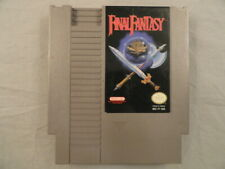 Final Fantasy (Nes, 1990) authentic game only Squaresoft Nintendo
