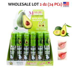 Magic Avocado Lipgloss- Pigmented Gloss! WHOLESALE LOT 2 dz (24 PCs)