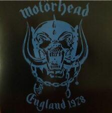 "MOTORHEAD ""England 1978"" Metal Rock Punk CLEOPATRA Limited Blue Vinyl SEALED LP"