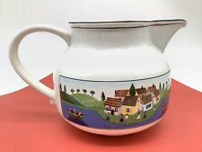 Villeroy & Boch Design Naif Replacement Teapot No Lid Village Lake Country Scene