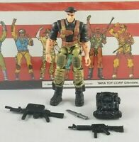 Original 2002 GI JOE FLINT V7 ARAH not complete UNBROKEN figure Two Pack