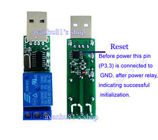 DC 5V USB Relaismodul Computer PC Command Smart Control Switch Controller Board