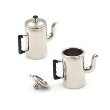 1/12 Dollhouse Miniature Metal Boiling Water Kettle toy Kitchen furniture toy ^P