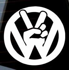 Vw paix signe voiture camper fenêtre jdm bumper vinyl decal sticker jdm vw