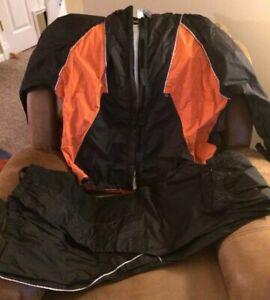 """HARLEY DAVIDSON  Rain Suit   L  """" Packable   """""""