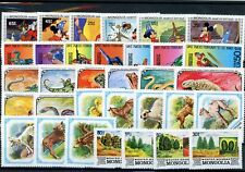 [G27395] Mongolia : Good Lot of Very Fine MNH Stamps