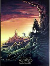 "Star Wars The Last Jedi Movie IMAX Poster Episode VIII Film 9x13""(1 of 4)"