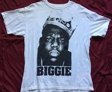 Biggie Notorius BIG Brooklyn Mint rap hip hop White Men's Large Shirt