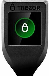 Trezor Model T - Next Generation Crypto Hardware Wallet with LCD Color Touchscre