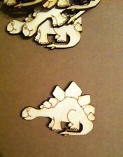 X5 Lasercut Wooden Dinosaur Shapes, Crafts