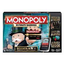 Hasbro B6677E42 Ultimate banking Monopoly Gioco da Tavolo