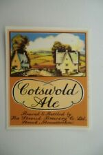 MINT THE STROUD BREWERY COTSWOLD ALE BREWERY BEER BOTTLE LABEL