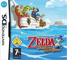 Nintendo DS Jeu-Legend of Zelda: Phantom Hourglass (DE/EN) (avec neuf dans sa boîte)