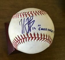 Kenley Jansen Signed & Inscribed Game Used Baseball - MLB Auth / PSA DNA