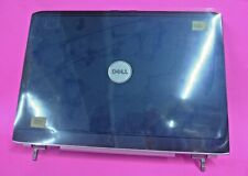 """NEW Dell Inspiron 1720 1721 17"""" LCD Lid Back Cover W/Hinges Midnight Blue FP630"""